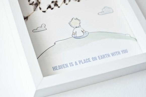 Ilustración handmade para bebés